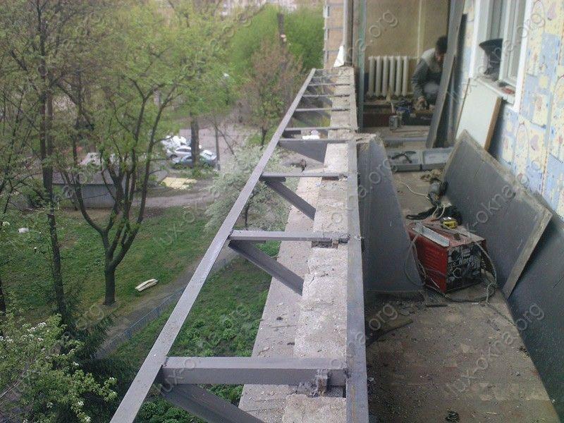 Кронштейн для выноса балкона. - лоджии - каталог статей - ба.